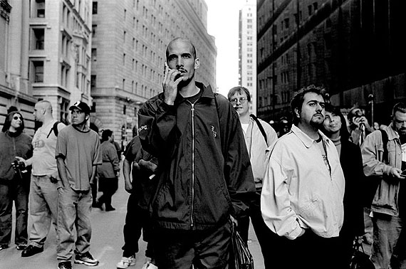 "Frédéric Sautereau © Frédéric Sautereau / L'Œil public Series ""New York. 20-28 septembre 2001. N40°42'42''W74°00'45''"", 30 x 40 cm"