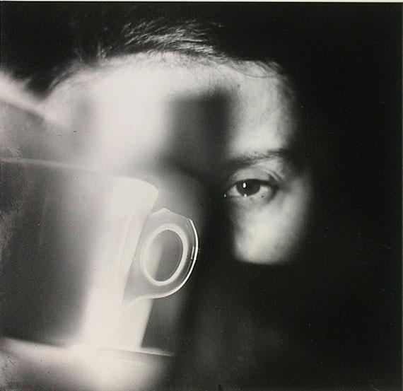 © Jaroslav RösslerUntitled (Portrait of Gertruda Rösslerova with cup)Ca. 1923/1991