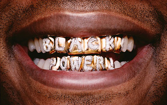 Hank Willis ThomasBlack Power, 2008© Hank Willis ThomasCourtesy Aperture Foundation