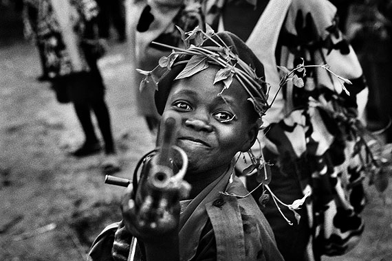Child Soldier © Marcus Bleasdale/VII