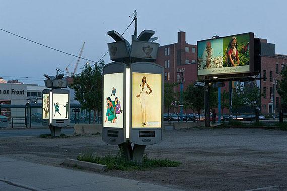 Installation view of Fair Warning/Rebranded/Remember Me, © Toni Hafkenscheid