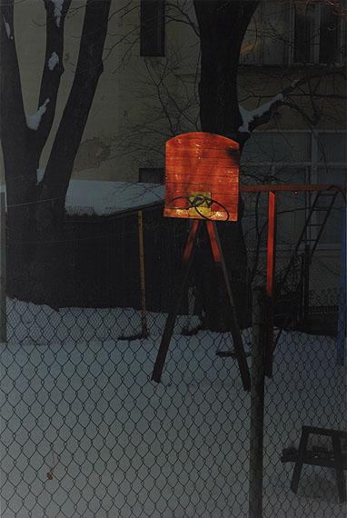 Sun Basket, Chernowitz, 2006 © Boris Savelev.Multi-layered pigment print on gesso coated aluminium. 80x120cm. Edition of 3.