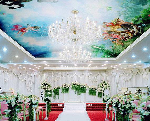 Shin EunkyungThe Top Wedding Hall, 2004 from the series Wedding Hall (2002-5)© Shin Eunkyung