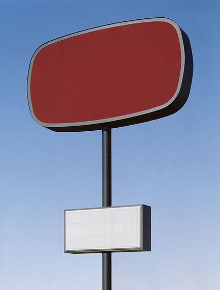 Josef Schulz, Serie SIGNOUT, rot#1, 2009, C-Print/Diasec, 131,5x100cm