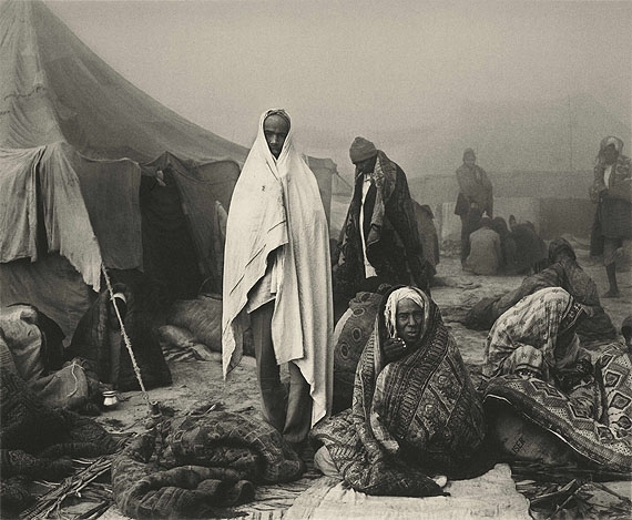 Early Morning at the Kumbh Mela, Allahabad, India, 1989, © Don McCullin, courtesy of Hamiltons