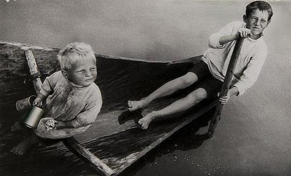 Alexander RodchenkoCatching Worms for Bait, 1933Hand-coloured vintage gelatin silver printEstimate: £2,500-3,500