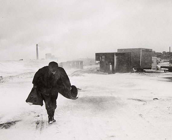 Chris KillipCookie in the Snow, 1984Vintage gelatin silver printEstimate £3,000-5,000