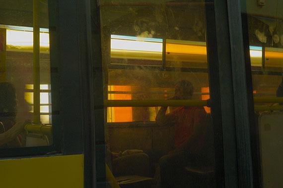 Jelty Bus,Chernowitz, 2011© Boris Savelev. Multi-layered pigment print on gesso coated aluminium.110x164cm. Edition of 3.