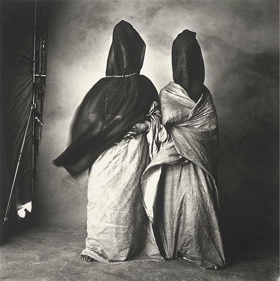 IRVING PENNGuedras in the Wind, Morocco 1971Platinum palladium print mounted to aluminumc. 44,5 x 44,5 cmEdition of 32© The Irving Penn Foundation