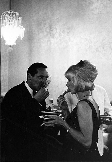 1965, Baden-Baden/hot dogs at a gala evening in the casino © Leonard Freed/Magnum Photos/Courtesy °CLAIR Gallery