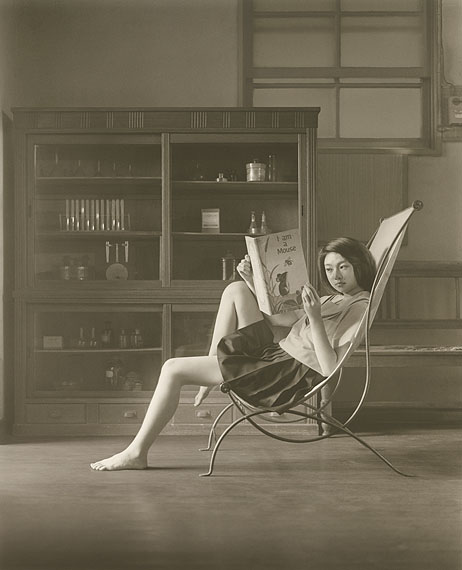 © Hisaji Hara - A Study of 'Katia Reading' 2009.  Courtesy of Michael Hoppen Gallery.
