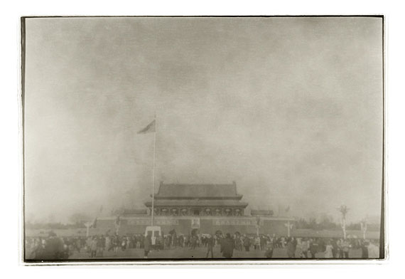 "LU Yanpeng: ""Tiananmen - Unexpected""(2011) Pigment print on fine art paper60cm x 90cm - Edition of 10; 100cm x 150cm - Edition of 6© LU Yanpeng. Courtesy of m97 Gallery."