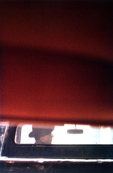 Saul Leiter, Driver, 1950s© Galerie f5,6