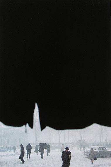 Saul Leiter: Canopy, ca. 1957 © Saul Leiter Courtesy: Saul Leiter, Howard Greenberg Gallery, New York