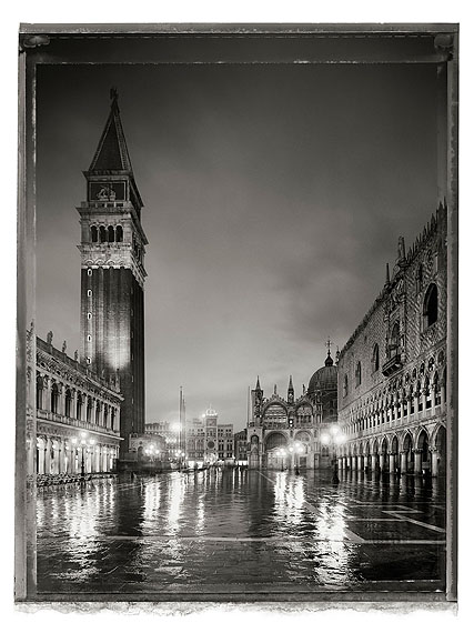 Piazetta San Marco I, 2010Archival pigment prints on Arches Cold Pressed Rag PaperLarge, in edition of 7, 53 1/8 x 40 5/8 in.Small, in edition of 25, 29 7/8 x 22 in.