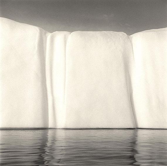 Iceberg VI, Disko Bay, Greenland, 2004. Selenium toned gelatin silver enlargement print.© Lynn Davis, Courtesy Edwynn Houk Gallery, New York/Zurich