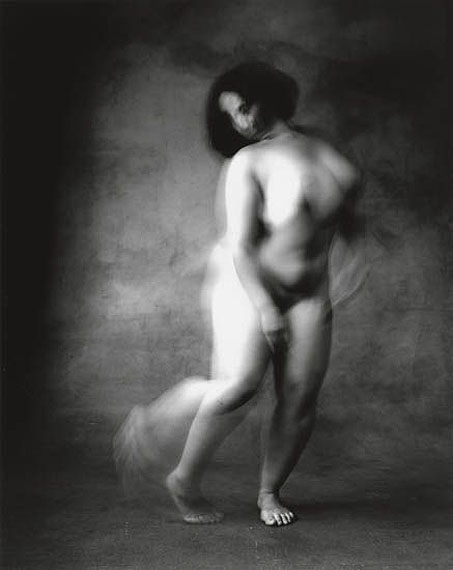 lot 99: Irving Penn, Alexandra Beller, New York (from the Dancer series), silver print, 1999, printed 2000. Estimate $18,000 to $22,000.(c) The Irving Penn Foundation