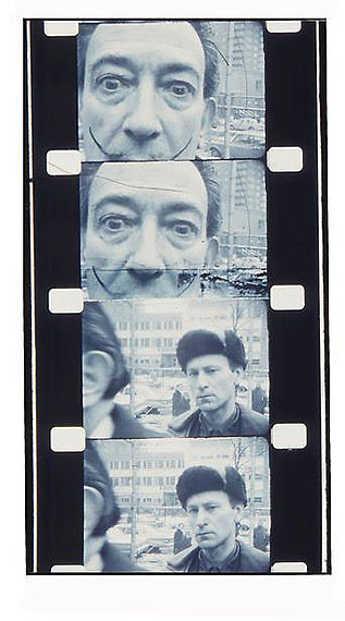 Jonas MekasSalvador Dali and myself, 1963© Jonas Mekas, courtesy James Fuentes Gallery/Edwynn Houk Gallery