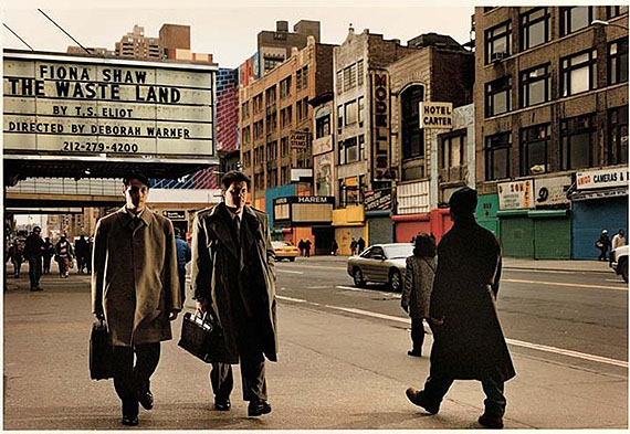 42nd Street at Five p.m., April 4, 1997. © Phillip-Lorca diCorcia, courtesy the artist and David Zwirner Gallery, New York