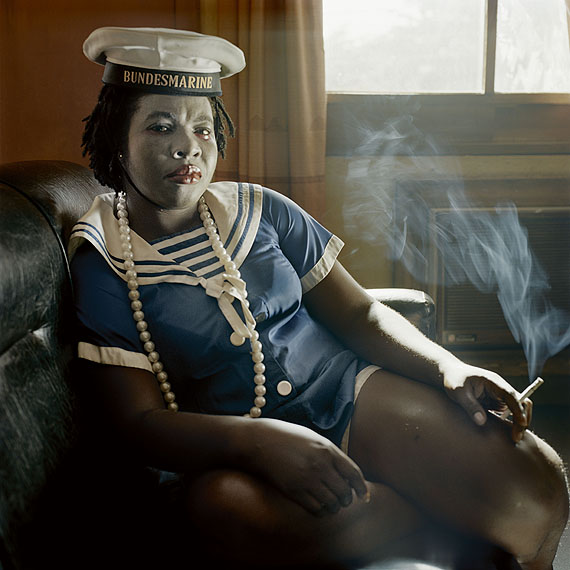 Pieter Hugo, Obechukwu Nwoye, Enugu, Nigeria, 2008 From the series Nollywood© Courtesy of Stevenson Gallery, Cape Town / Yossi Milo, New York