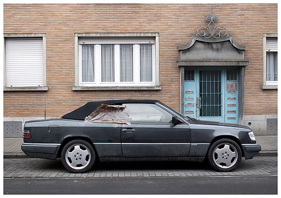 Hana Miletic: from the series EURO Cars, 2010-2011, M-B (A124) 300 CE-24 C 1994 2 M-AMG EU