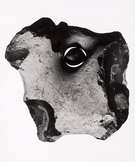 Flint nodule, approx. 86 million years old © Christian von Alvensleben: Gelatin silver, handmade enlargement, selenium toned, 50 x 60 cm, limited edition of 2 prints + 1 AP