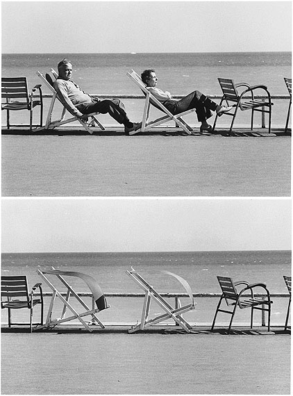 FRANCE. Cannes. 1975. (1,2 of 2) © Elliott Erwitt / Courtesy Galerie Polka