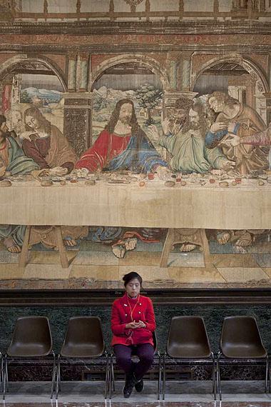 Christoph Brech: Pinacoteca Sala VIII, 2011Courtesy: Galerie FELDBUSCHWIESNER, Berlin