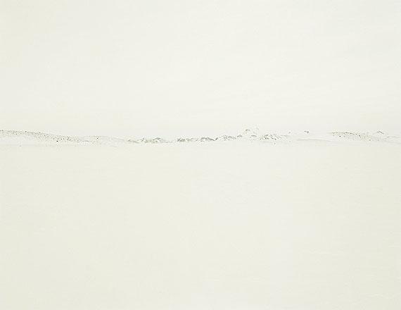 Michael SchnabelWeisses Land Skizze #11© Michael Schnabel, courtesy Galerie Esther Woerdehoff