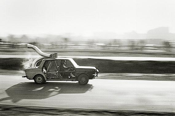 Ehemalige Autorennstrecke Zeche Alme, 1982 © Robert Freise