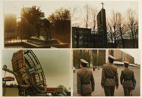 aus dem Zyklus Berlin - Empfindungskomplexe, 1985 © Heinz Cibulka