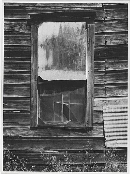 Ansel AdamsWindow, Bear Valley, California1973, Polaroid Type 55Gelatin silver print 9.8 x 13.3