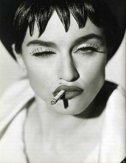 Herb Ritts, Madonna IV, San Pedro, 1990, Courtesy Edwynn Houk Gallery New York, Zurich