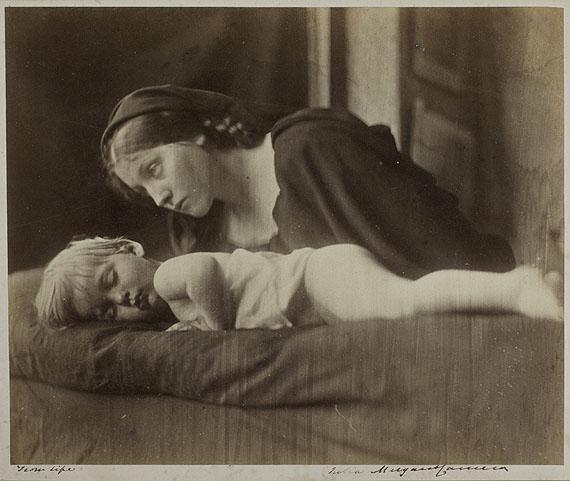 LOT 8Julia Margaret CameronArchibald Cameron and Mary Hillier, 1865