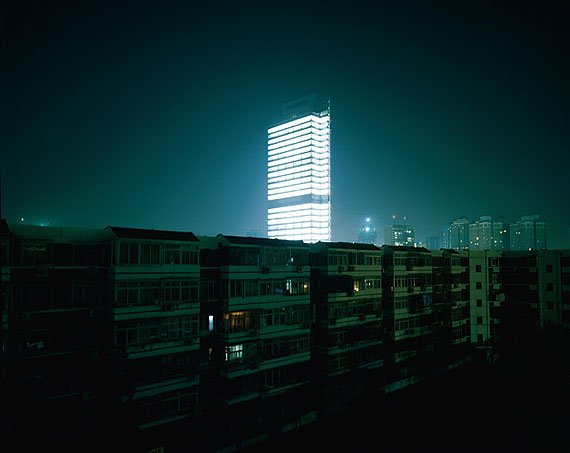Jiang Pengyi, Luminant: SIEMENS, Beijing, 2007-2008Light box or Archival inkjet print, Light box: 192 x 240 cm (Edition of 3) / 79 x 100 cm (Edition of 3), Archival inkjet print: 100 x 125 cm (Edition of 3).Image courtesy of the artist and Blindspot Gallery
