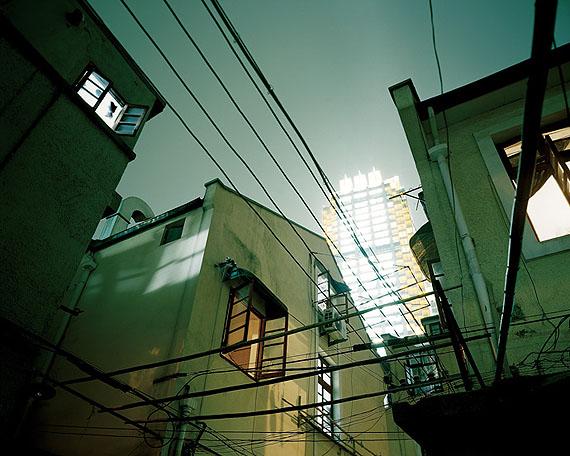 Jiang Pengyi, Luminant: HuaiHai Plaza, Shanghai, 2007-2008Light box or Archival inkjet print, Light box: 192 x 240 cm (Edition of 3) / 79 x 100 cm (Edition of 3), Archival inkjet print: 100 x 125 cm (Edition of 3).Image courtesy of the artist and Blindspot Gallery
