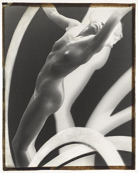 Lot 19FRANTISEK DRTIKOL (1883-1961)Nude study, circa 1925 – 1928glass-plate negative91/4 x 11 7/8in. (23.8 x 29.8cm.)£6,000 - £8,000