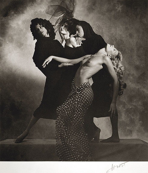 Lot 43HORST P. HORST (1906-1999)Zoli Models, 1985platinum-palladium print, printed later16 3/4 x 15 1/2in. (42.5 x 39.2cm.)£8,000 - £12,000
