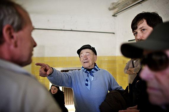 Neo Roveretto, 65. Jahrestag der Befreiung, KZ-Gedenkstätte© Mark Mühlhaus