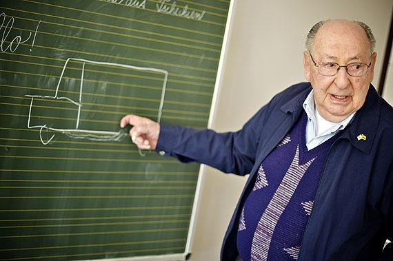 Aleksander Henryk Laks, 65.Jahrestag der Befreiung© Mark Mühlhaus