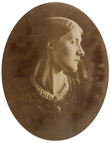 Julia Margaret Cameron Julia Jackson, April 1867Signed albumen print on original card £6,000 - 8,000