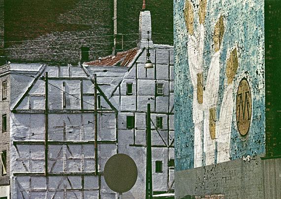 © Peter Cornelius-d'Hargues: Fachwerkwand, Kopenhagen, 1962