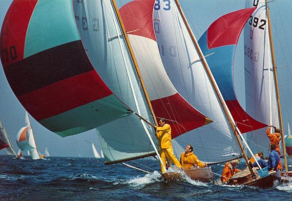 © Peter Cornelius-d'Hargues: Drachenboote, 1969