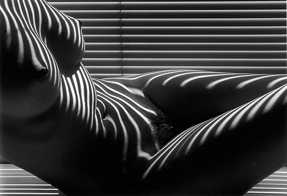 Lucien Clergue Nu zébré, New York 1997Artist ProofSilver Gelatin PrintSigned, dated and numbered, printed 200750 x 60 cm