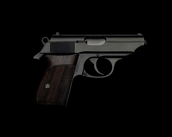 Guido Mocafico Walther PPK, 2006Edition 18Chromogenic Print on Alu-Dibondsigned dated and numbered on mount96 x 120 cm