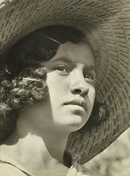 """Margaret Bourke-White. """"Coffee Picker"""" 1936. Vintage gelatin silver print"""