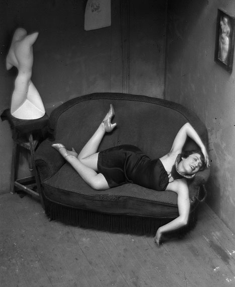 André KertészSatiric Dancer, Paris, 1926Vintage silver print16.9 x 11.8 cmCourtesy Edwynn Houk Gallery, New York and Zurich