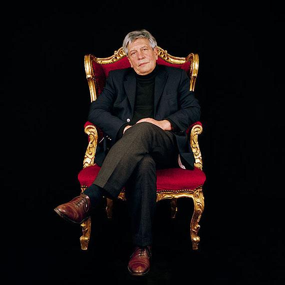 """Hermann Scheer, Politiker, DeutschlandRight Livelihood Award 2004Aus der Serie """"Bescheidene Helden"""", © Katharina Mouratidi"""
