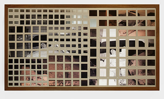 Rosângela RennóApagamento #2 (caixa) [Erasure #2 (box)], 2005(detail)Slides in wooden and acrylic light box, 75 x 135 x 15 cmCollection Américo Marques, LisbonPhoto: Thiago Barros© Rosângela Rennó