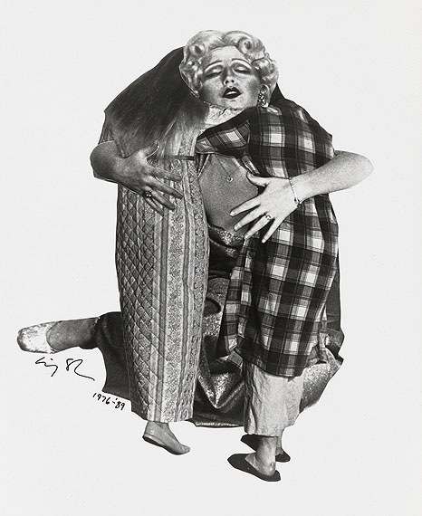 Cindy Sherman, Untitled, silver print of a photographic collage, 1976-89.Estimate $2,000 to $3,000.